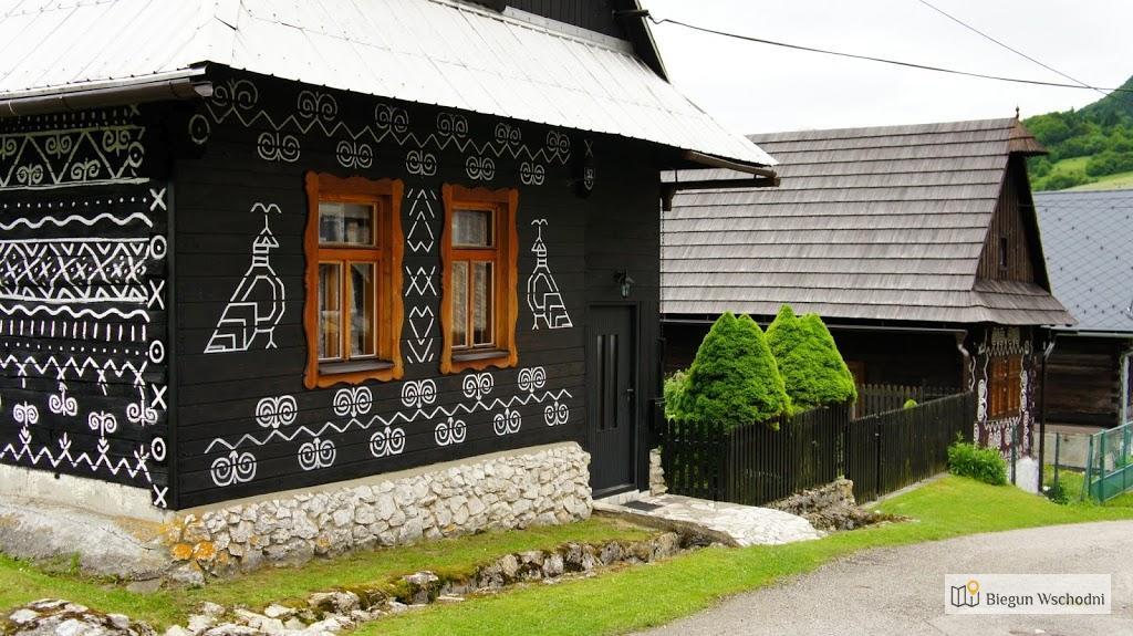 Cicmany - malowana wioska na Słowacji