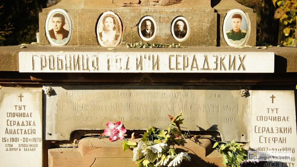 Nagrobek na Cmentarzu Janowskim we Lwowie