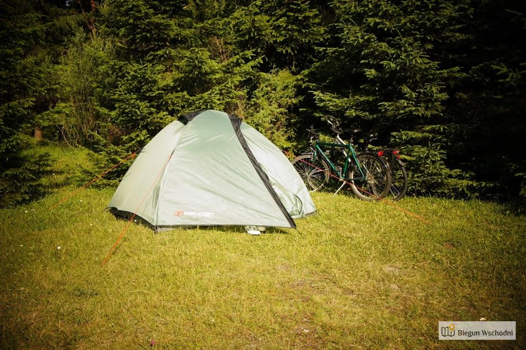 Jasiel - pole namiotowe