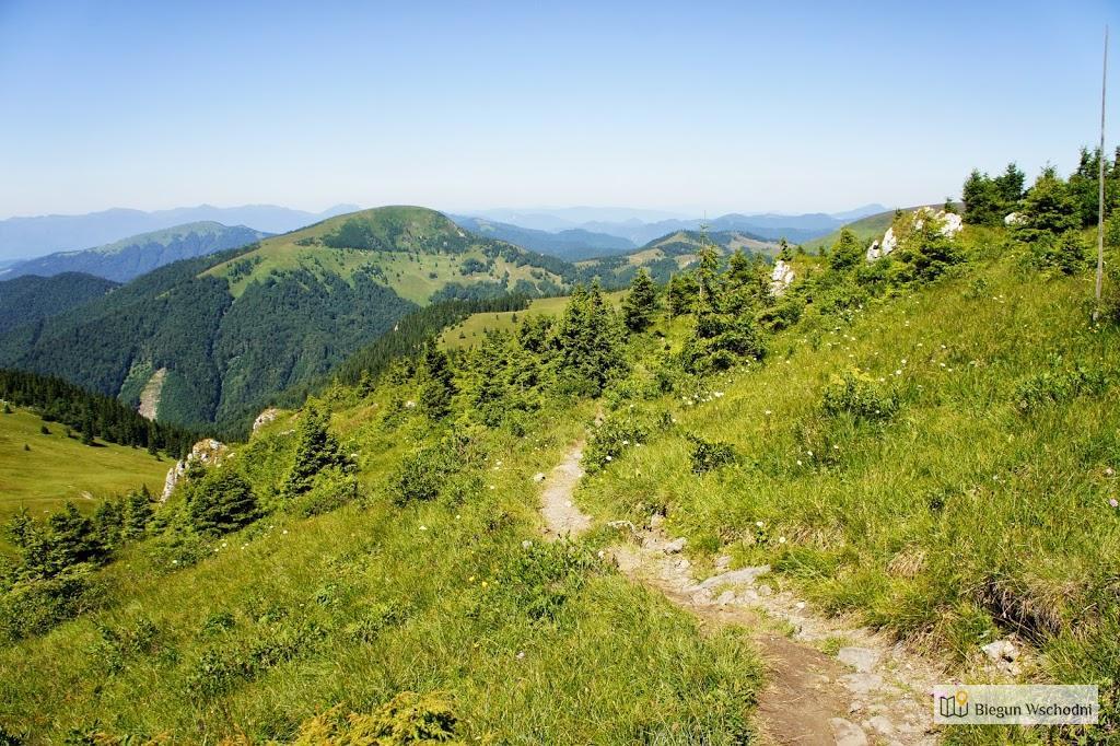 Wielka Fatra - pomysł na aktywny długi weekend - wędrówka po górach