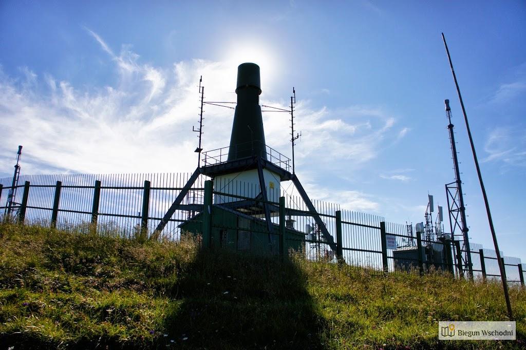 Wielka Fatra, szczyt Krizna, przekaźnik telekomunikacyjny