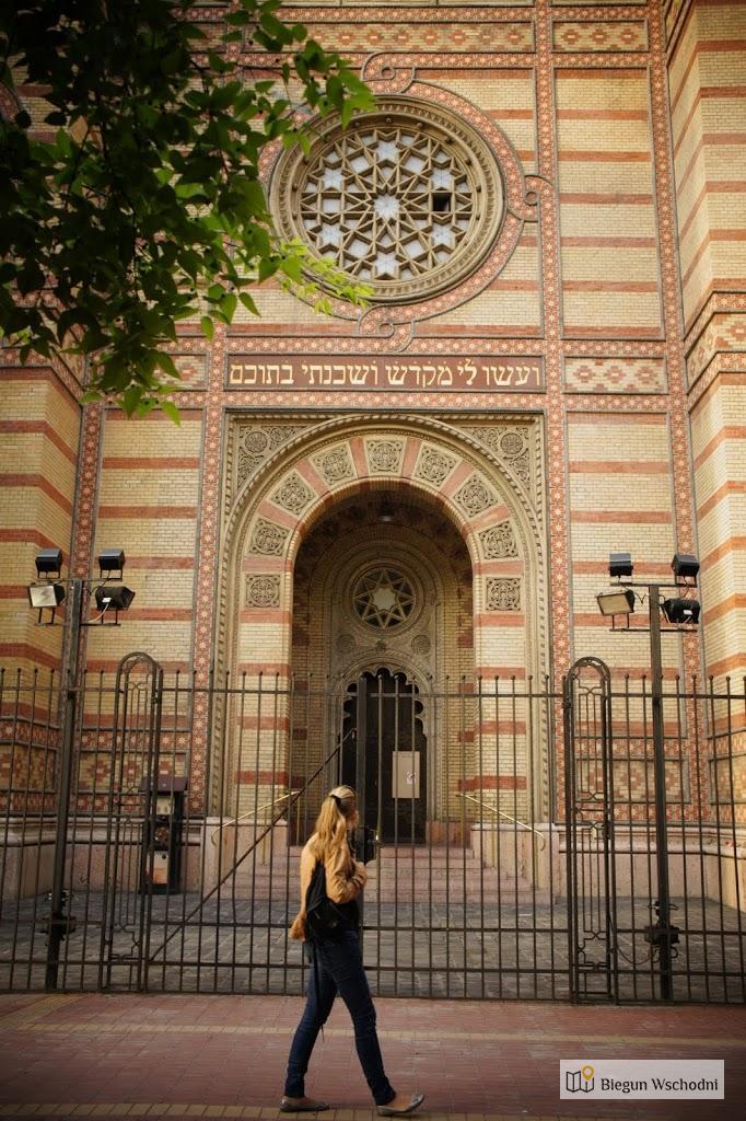 Weekend w Budapeszcie. Drzewo Życia - pomnik przy Wielkiej Synagodze