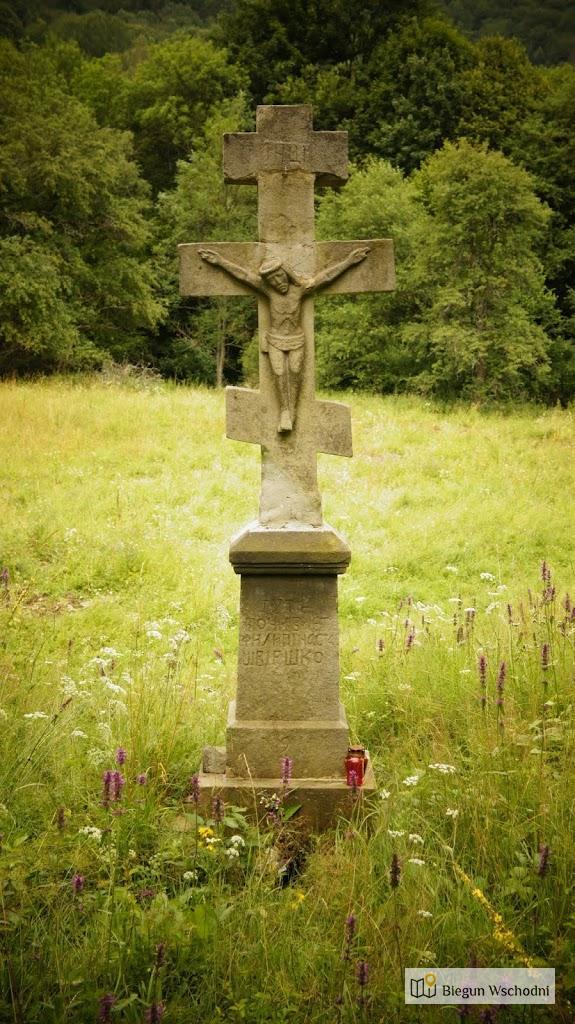 Cmentarz łemkowski w dawnej wsi Żydowskie