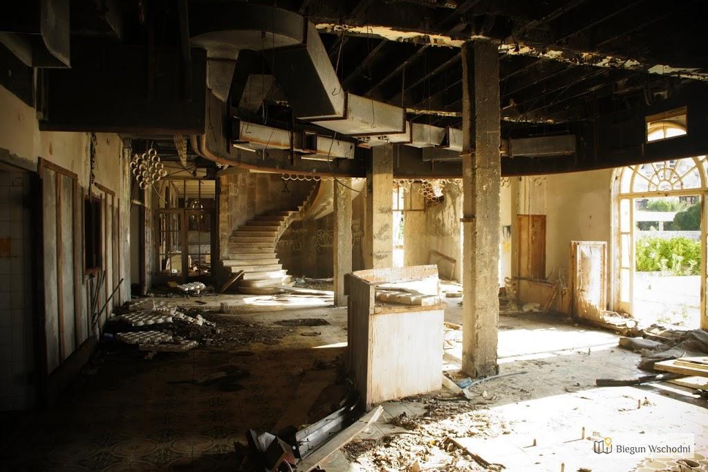 Kupari, zatoka umarłych hoteli, chorwackie miasto duchów, Chorwacja