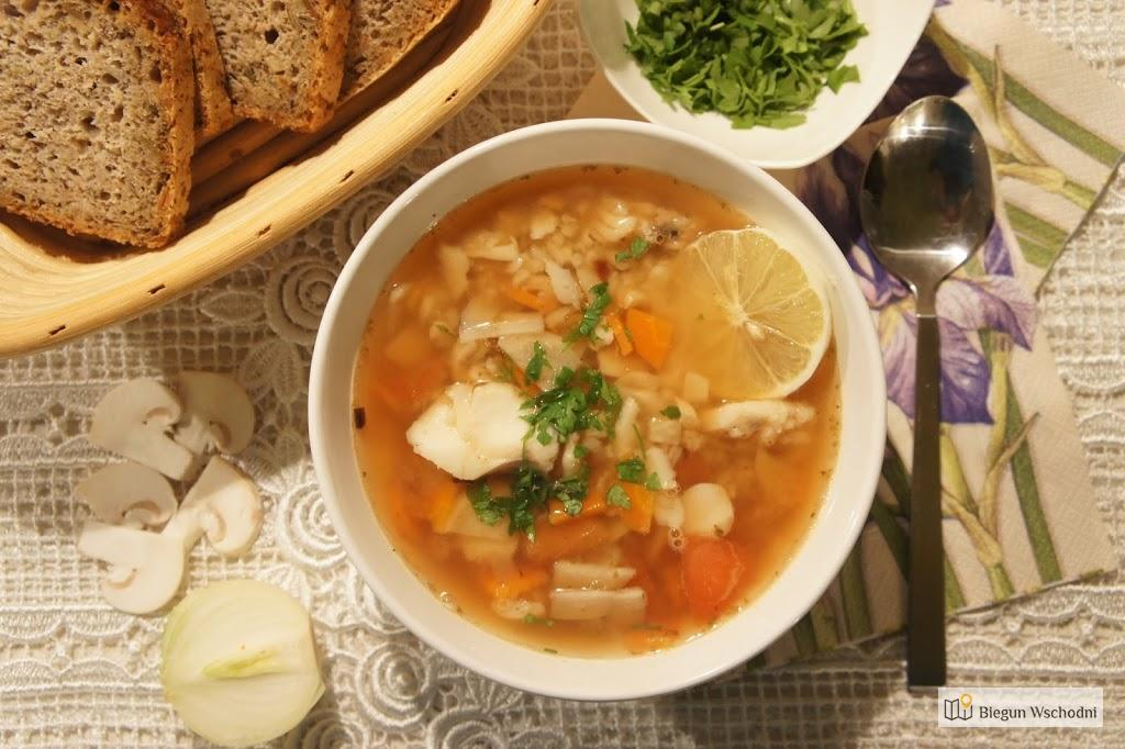 Bałkańskie Smaki: Zupa Rybna