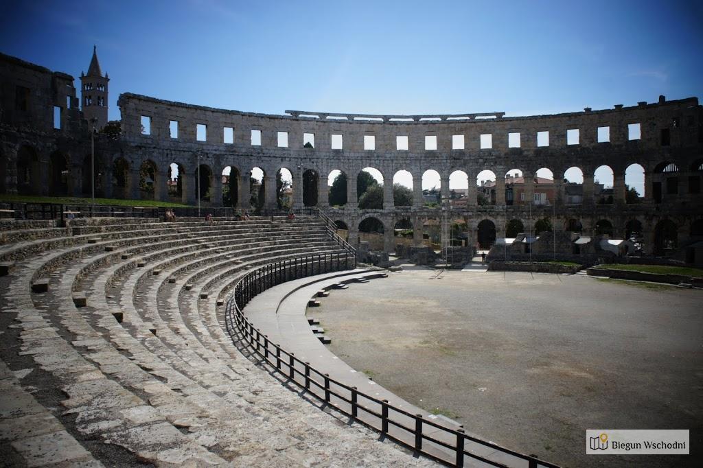 Atrakcje Chorwacji: Amfiteatr w Puli