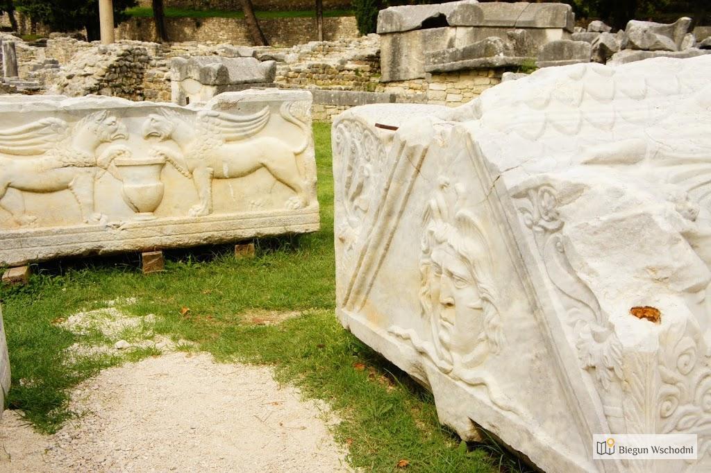 Atrakcje Chorwacji: ruiny starożytnego miasta Salona (Solin), koło Splitu
