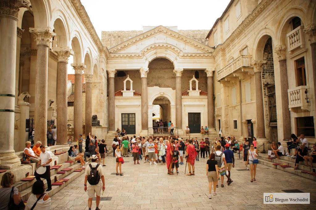 Atrakcje Chorwacji: Pałac Dioklecjana w Splicie