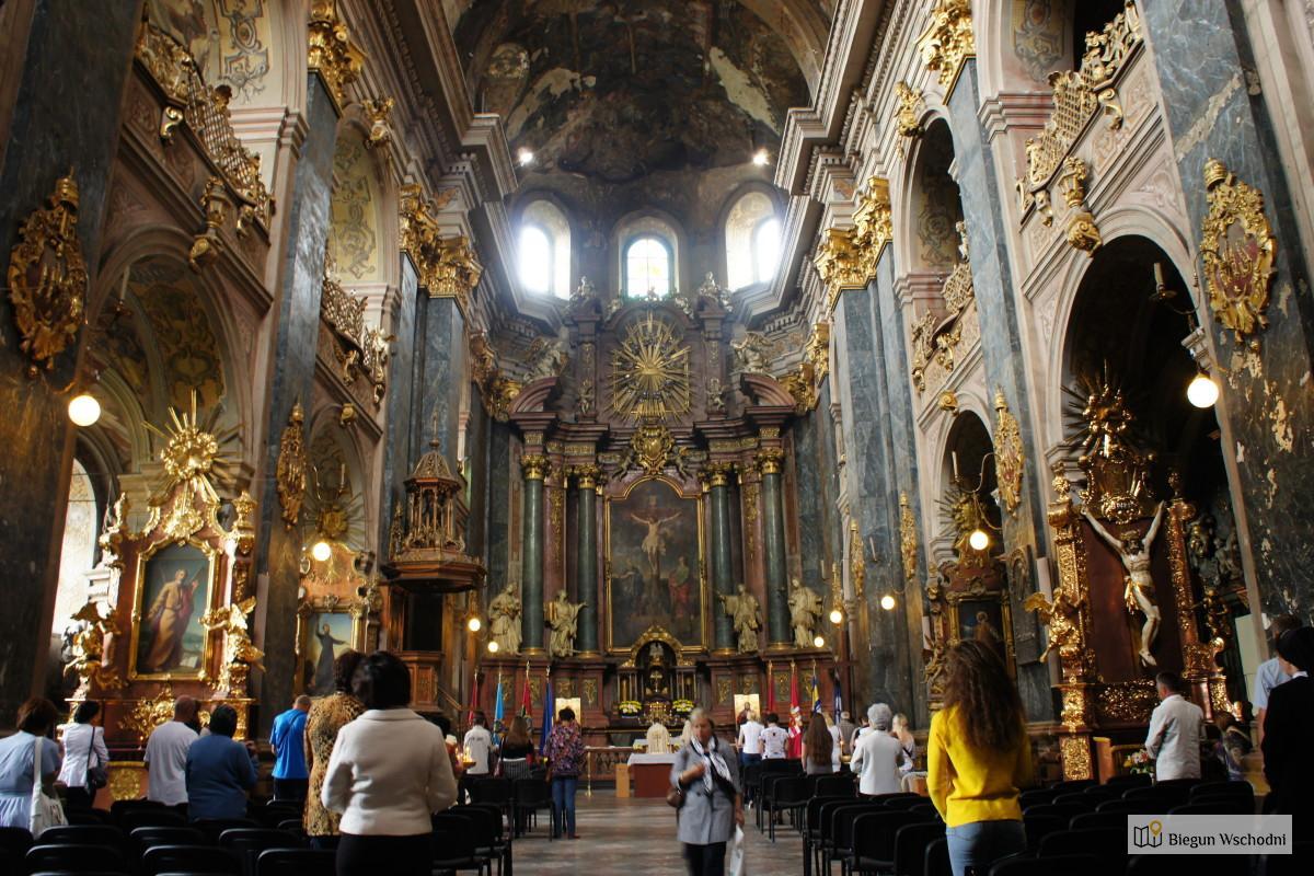 Dawny kościół Zakonu Jezuitów we Lwowie