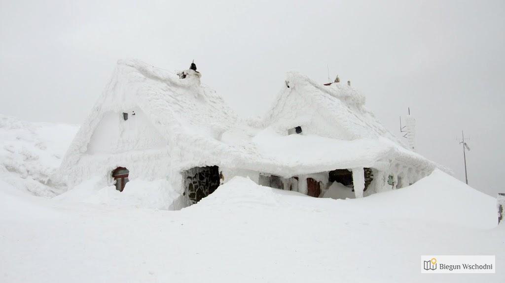Połonina Wetlińska - Chatka Puchatka zimą