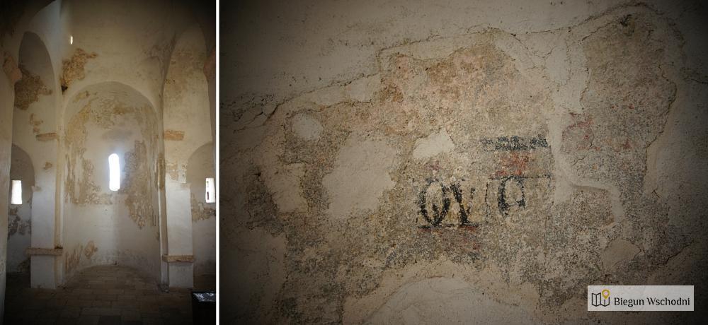 Atrakcje Chorwacji - wnętrze kościoła św. krzyża w Nin