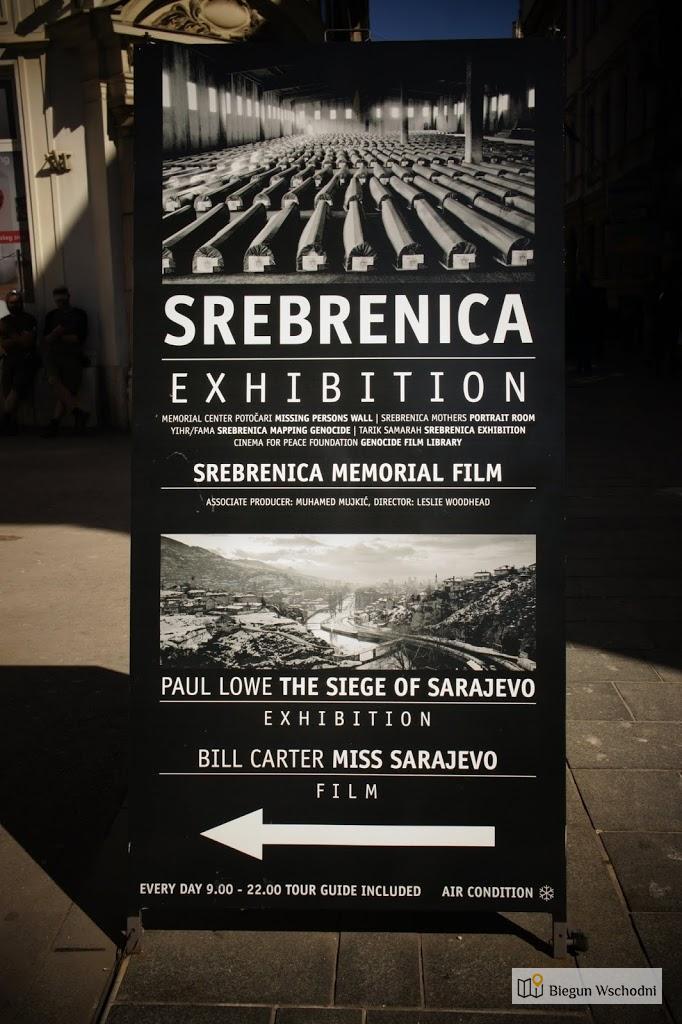 Sarajewo - wystawa dokumentująca ludobójstwo