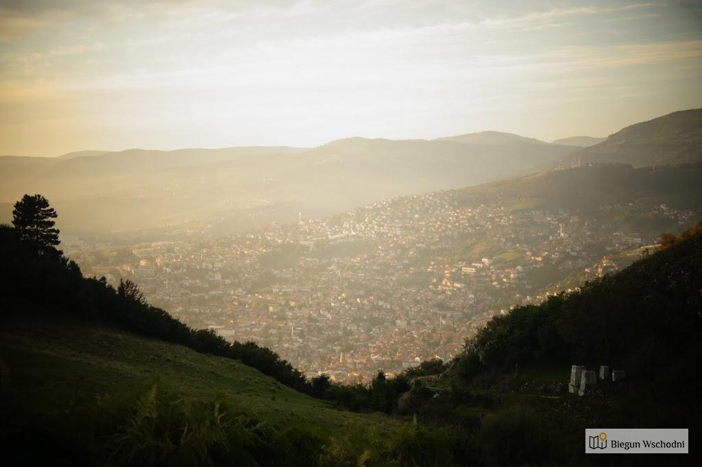 Sarajewo - wzgórza Sarajewa
