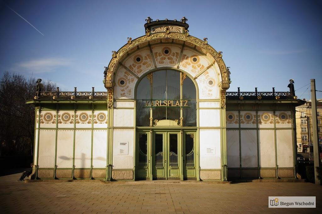Atrakcje Wiednia, pawilony Ottona Wagnera