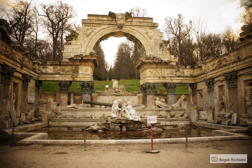 Schloss Schonbrunn, ruiny świątyni Wespazjana
