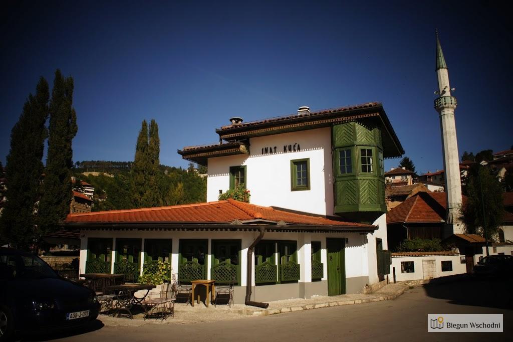 Sarajewo, przekorny domek