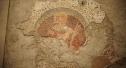 Pozostałości Po Freskach Na Jednej Z Kamienic, Bergamo