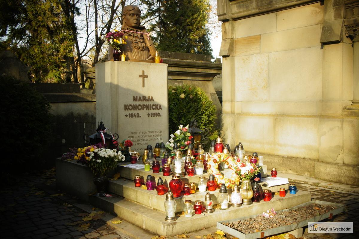 Grób Marii Konopnickiej na Cmentarzu Łyczakowskim we Lwowie