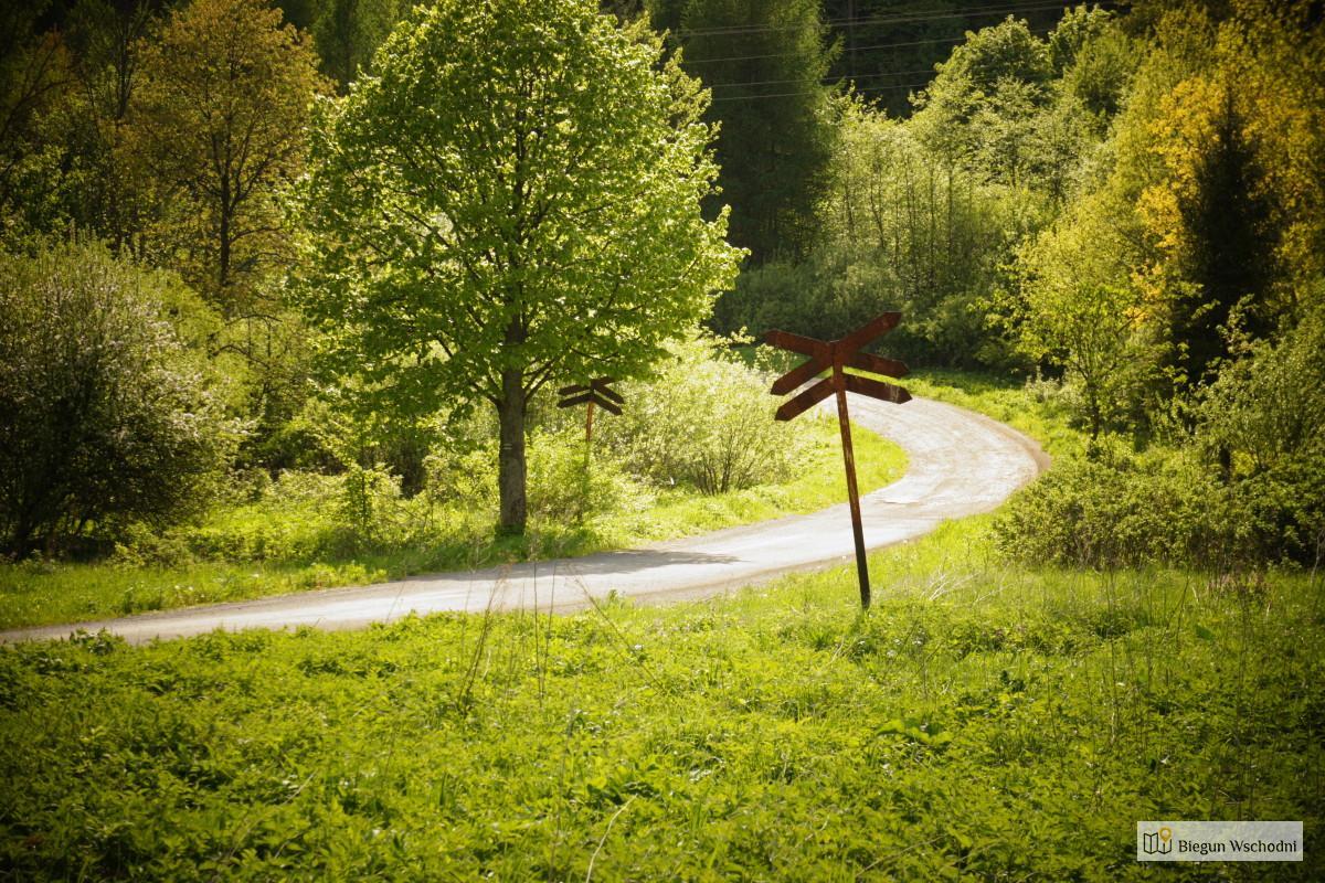 Rowerem po Bieszczadach - Prełuki
