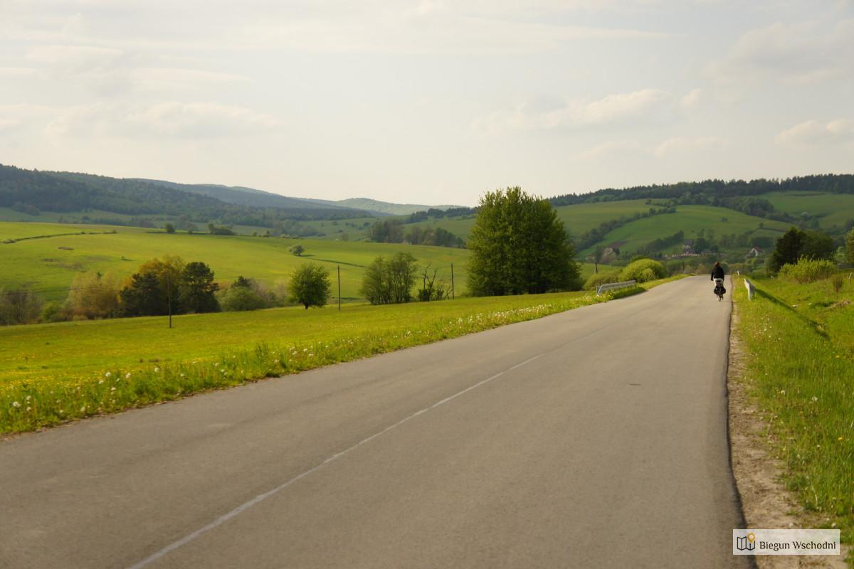 Rowerem po Bieszczadach