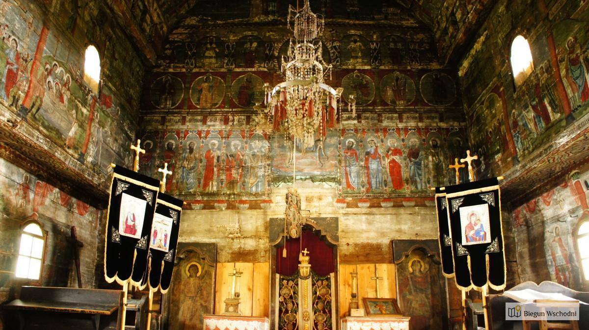 Maramuresz - drewniane cerkwie