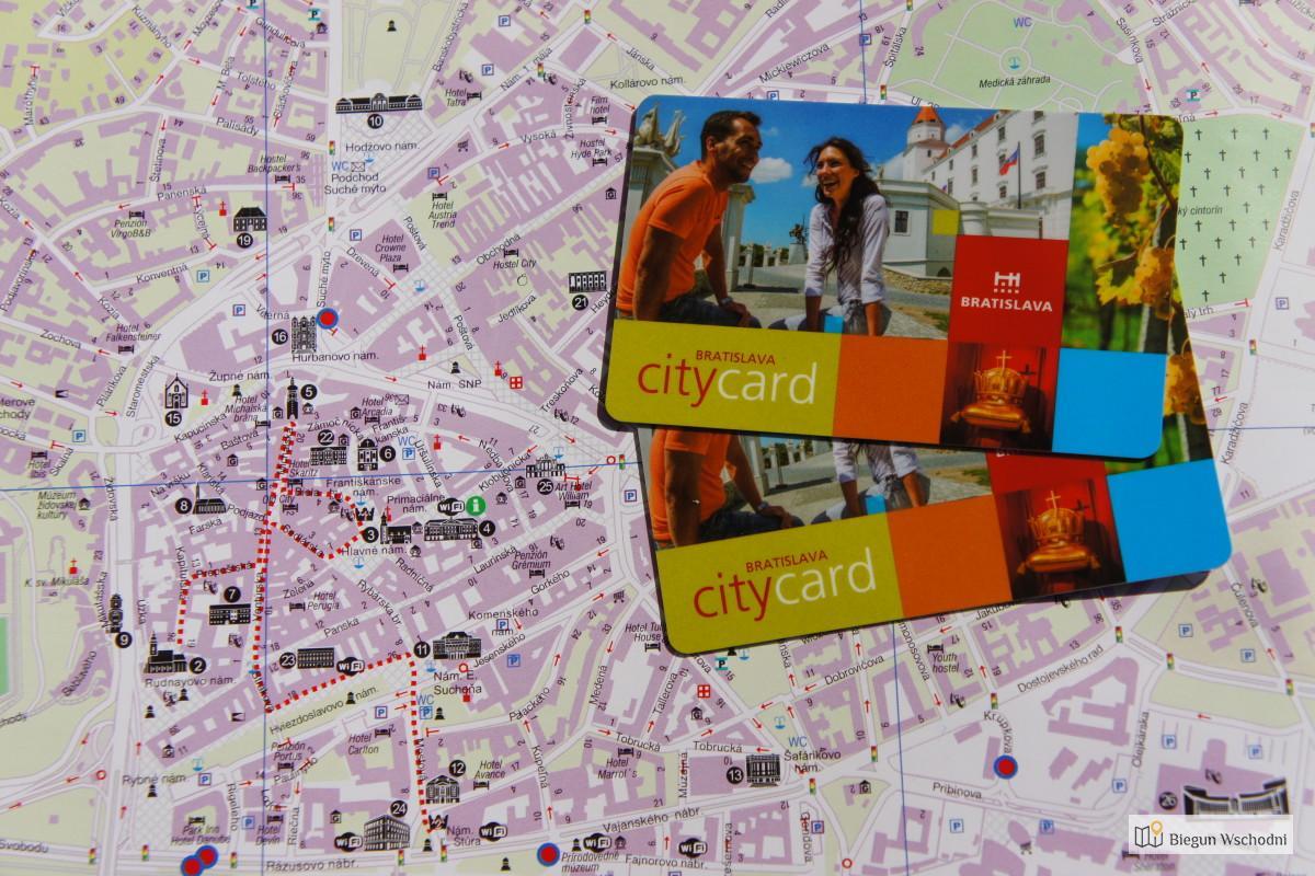 Bratislava City Card - Karta miejska Bratysławy
