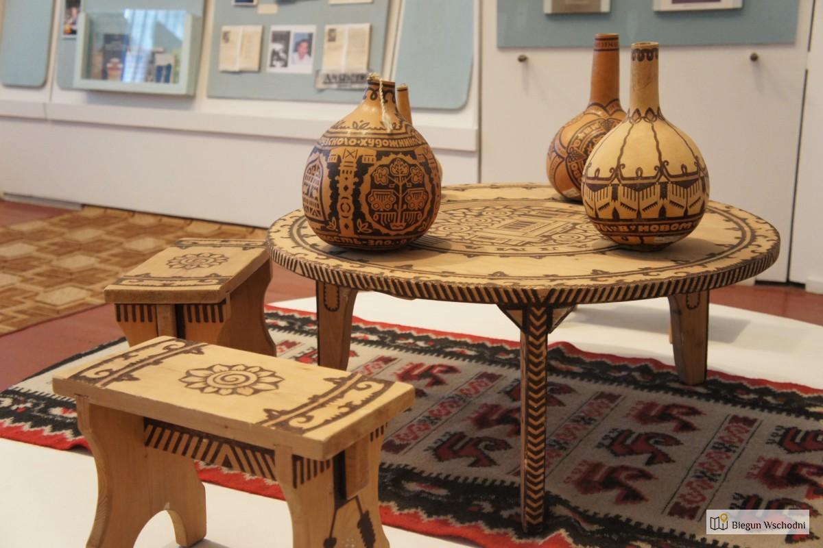 Gagauskie rękodzieło. Muzeum Gagauzji w Besalmie
