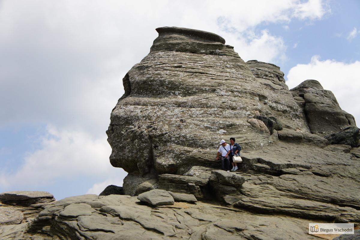 Sfinks karpacki - góry Bucegi, Rumunia