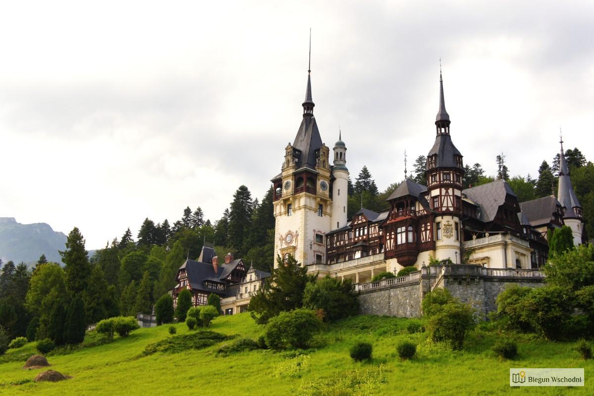 Atrakcje Rumunii - zamek Peles