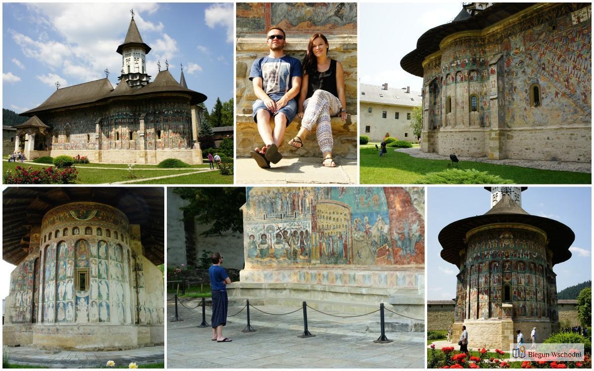 Atrakcje Rumunii - malowane klasztory na Bukowinie