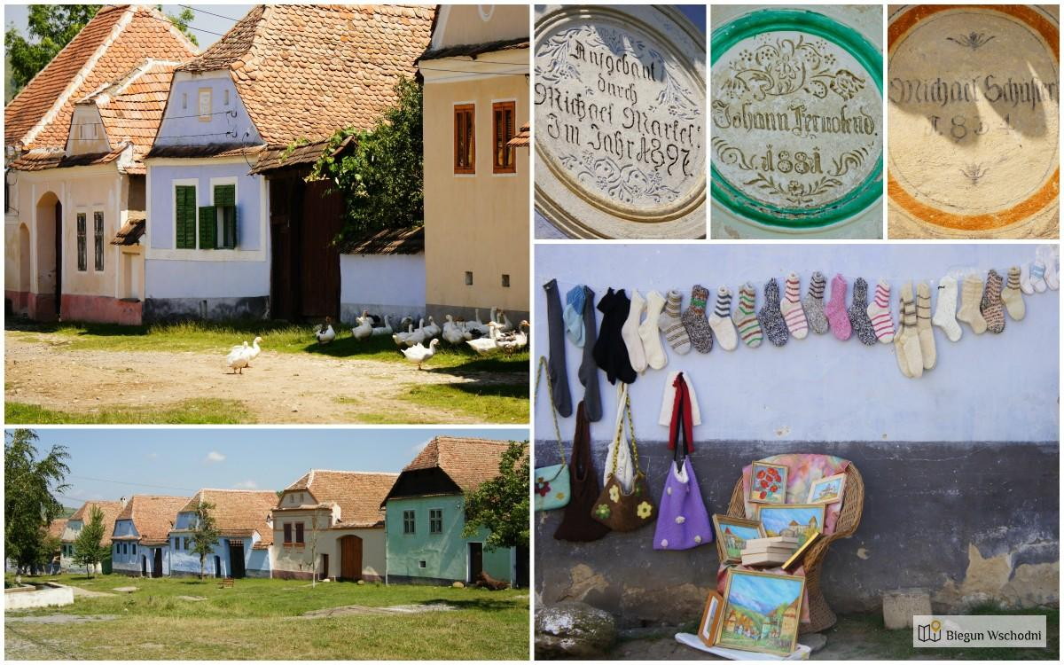 Atrakcje Rumunii - saska wioska Viscri