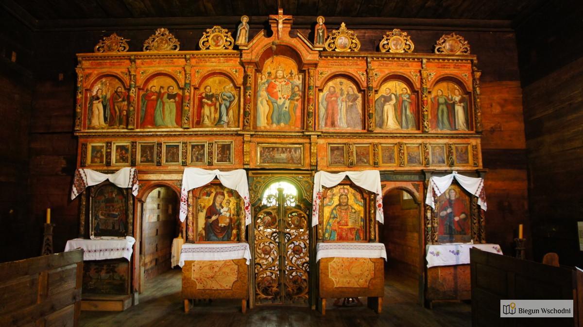 Wędrówka po Beskidzie Niskim - cerkiew w Bartnem