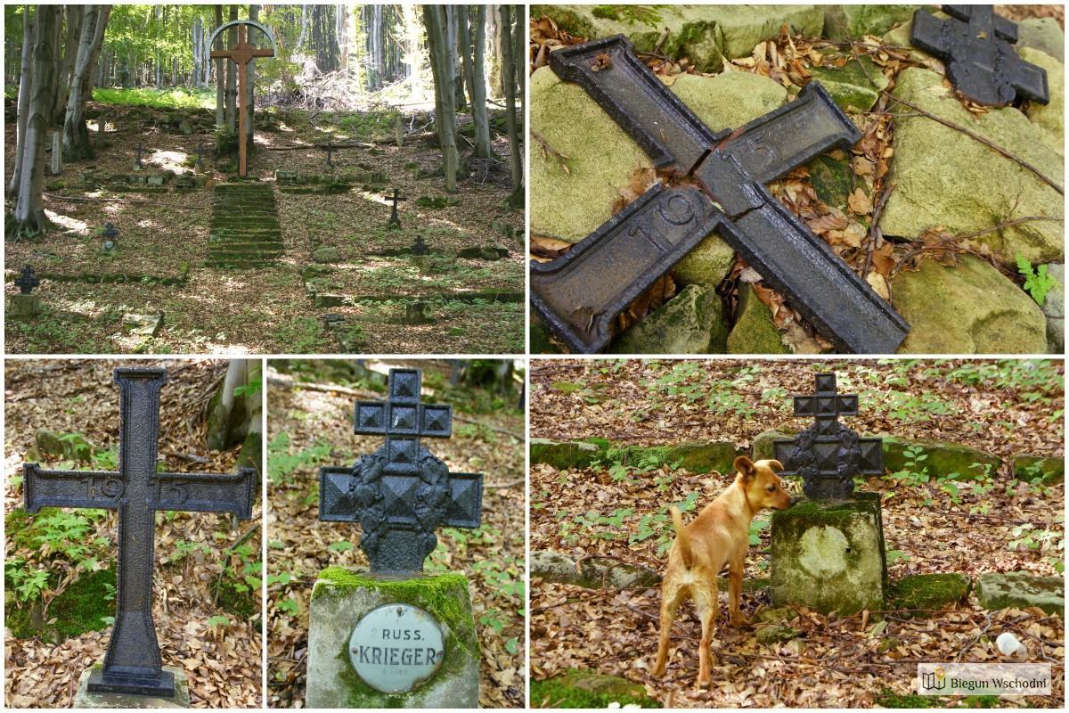 Wędrówka po Beskidzie Niskim - cmentarz wojenny nr 69 Bodaki