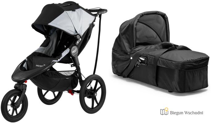Baby Jogger Summit X3 - wózek do biegania i jazdy na rolkach z hamulcem ręcznym