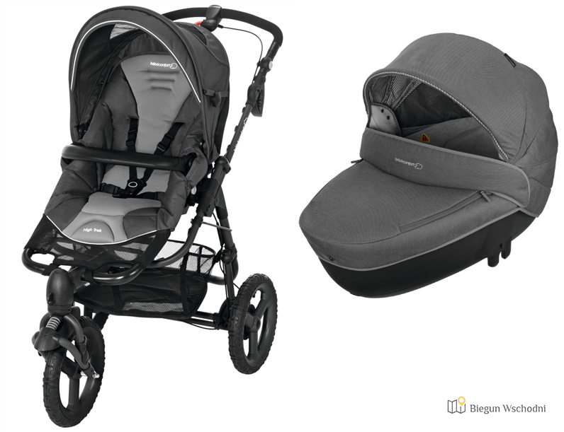 Bebe confort high trek - wózek do biegania i jazdy na rolkach z hamulcem ręcznym