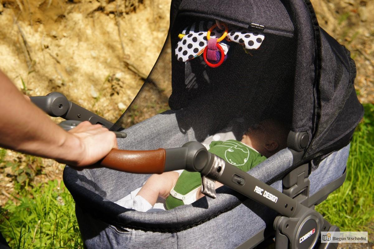 Weekend W Beskidzie Niskim. Testujemy Wózek ABC Design Cobra Plus
