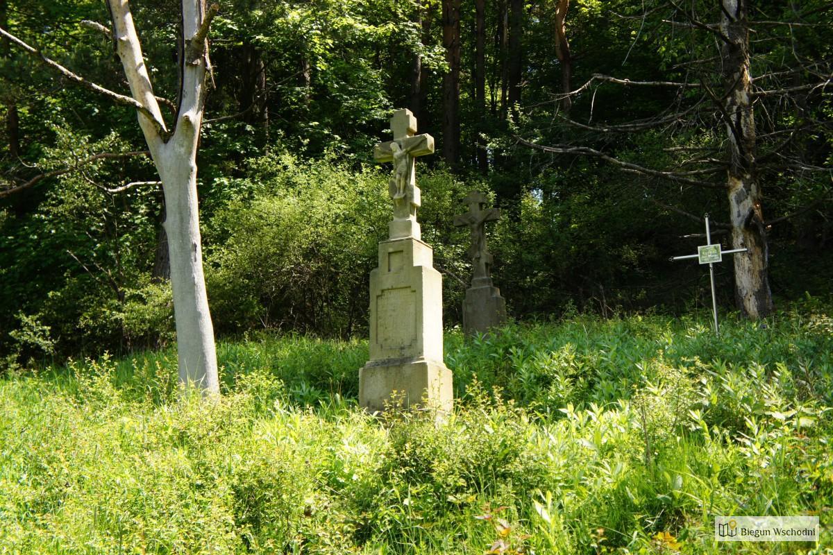 Weekend w Beskidzie Niskim. Dawna wieś Beniowa, pozostałości cmentarza
