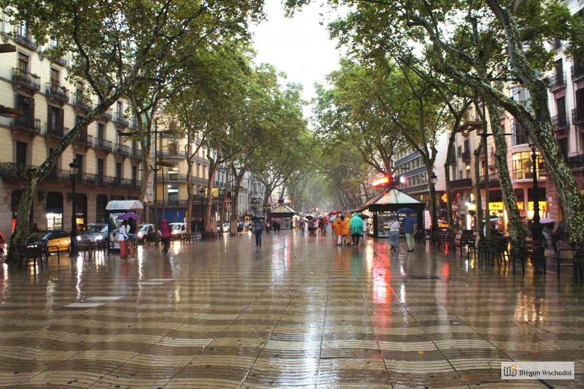 Barcelona, La Rambla - atrakcje Barcelony dla dorosłych