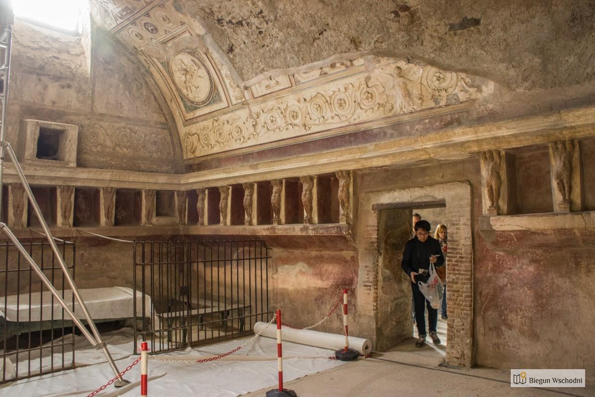 Pompeje, co zobaczyć, przewodnik - Terme del Foro