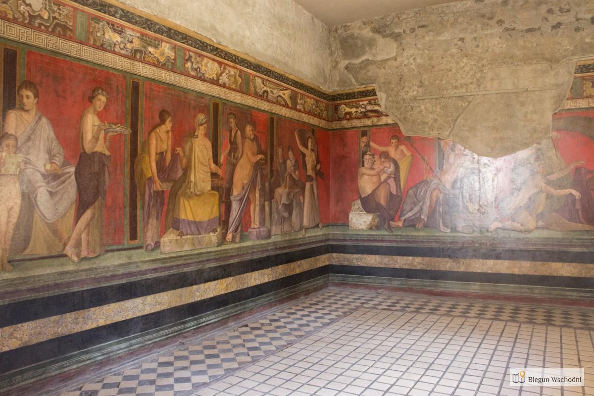 Przewodnik po Pompejach - Villa dei Misteri - Willa z Misteriami