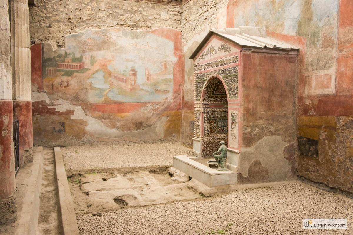 Pompeje - Casa della Fontana Piccola - co zobaczyć