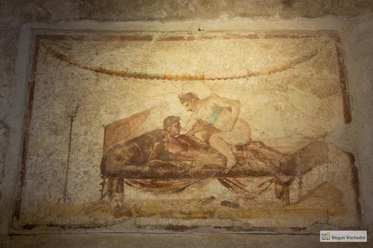 Pompeje - atrakcje turystyczne, starożytny burdel. Lupanar