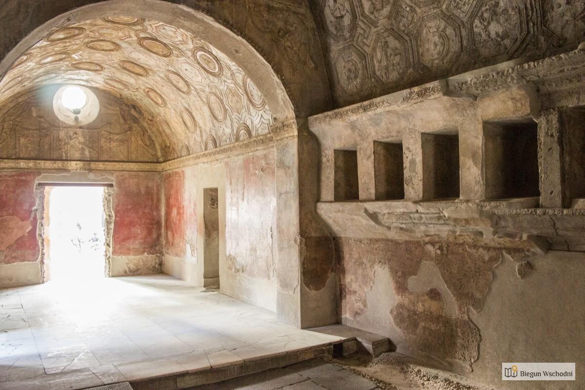 Pompeje - co zobaczyć, zwiedzanie, atrakcje - Terme Stabiane