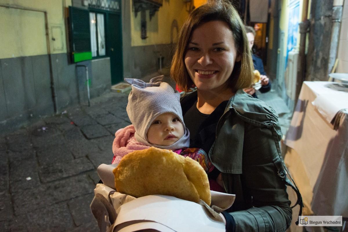 Neapol - uliczne jedzenie
