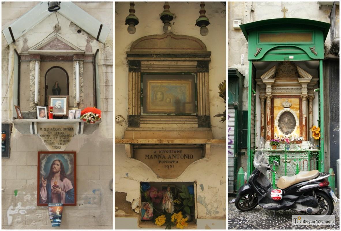 Weekend w Neapolu - kapliczki wotywne