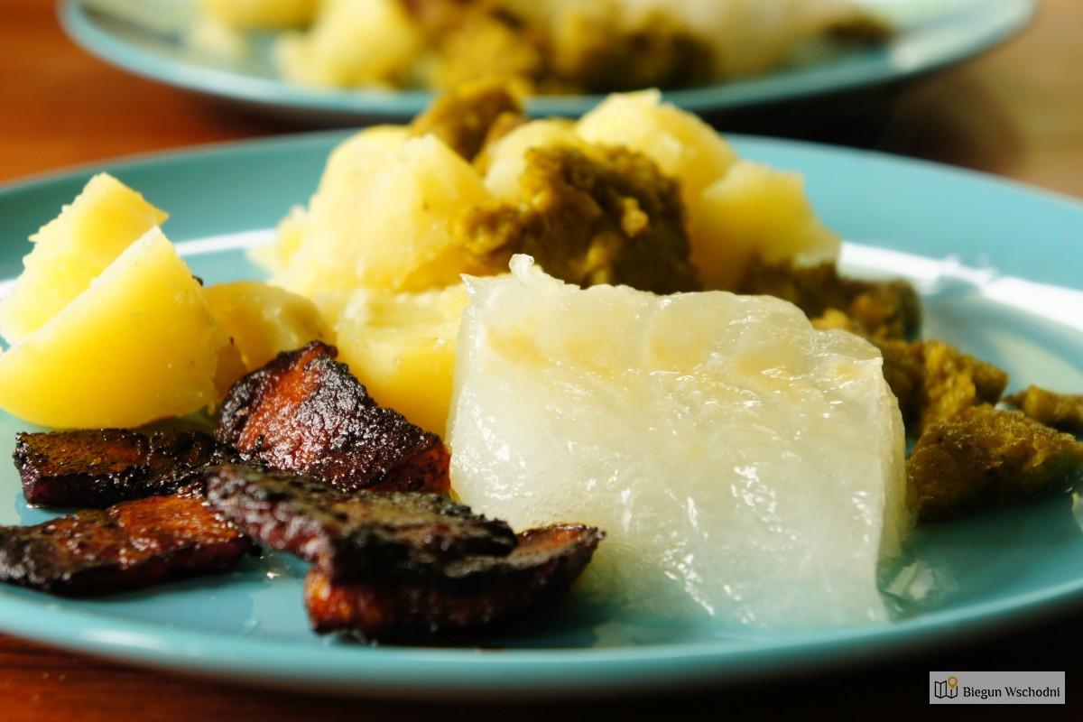 Lutefisk - tradycyjna potrawa z ryby