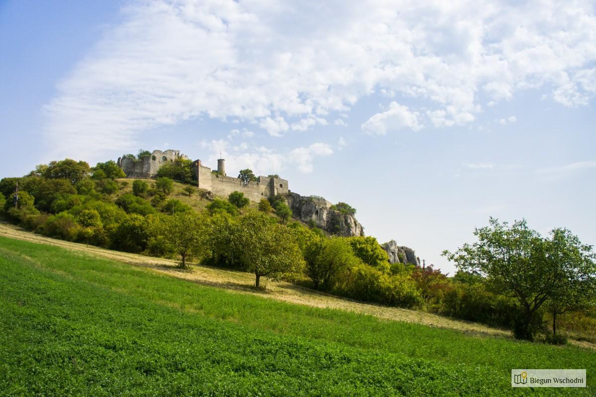 Ruiny zamku Falkenstein. Atrakcje Dolnej Austrii