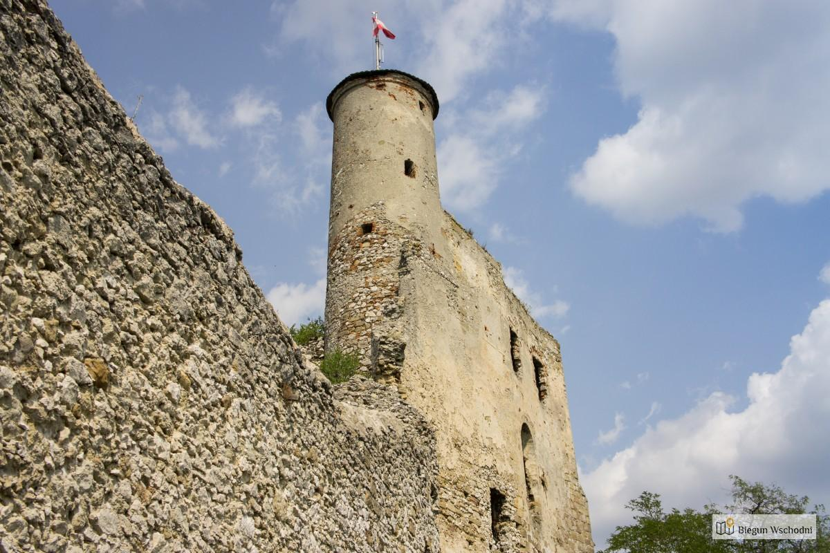 Ruiny zamku Falkenstein. Dolna Austria
