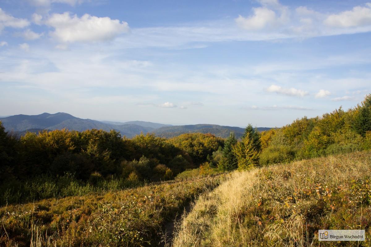 Szlak w Bieszczadach gdzie nie ma tłumów