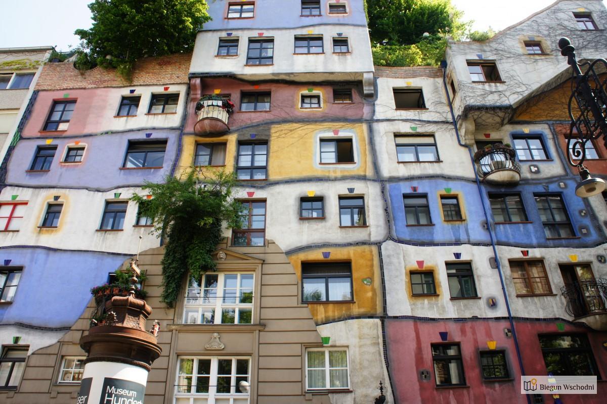 Atrakcje dla dzieci we Wiedniu - Hundertwasserhaus